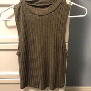 American Eagle soft cropped tank